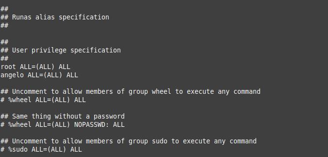 2.- Enabling sudo on FreeBSD 12