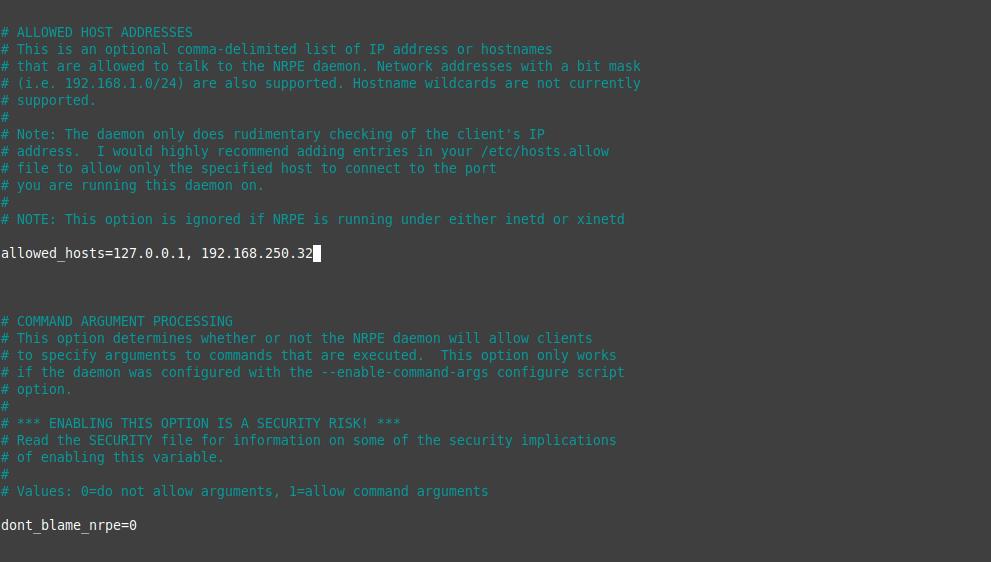 2.- Configuring the plugin