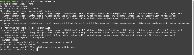 3.- Install MariaDB 10.4 on Debian 10
