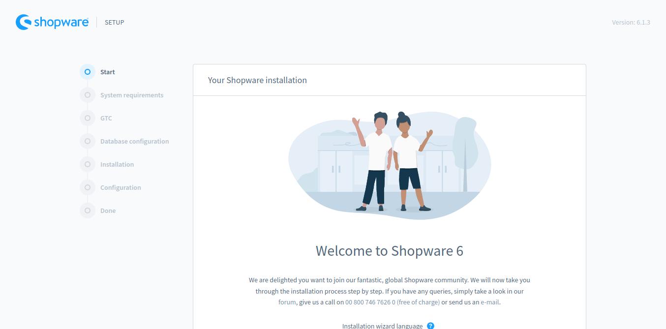 4.- Shopware on Debian 10