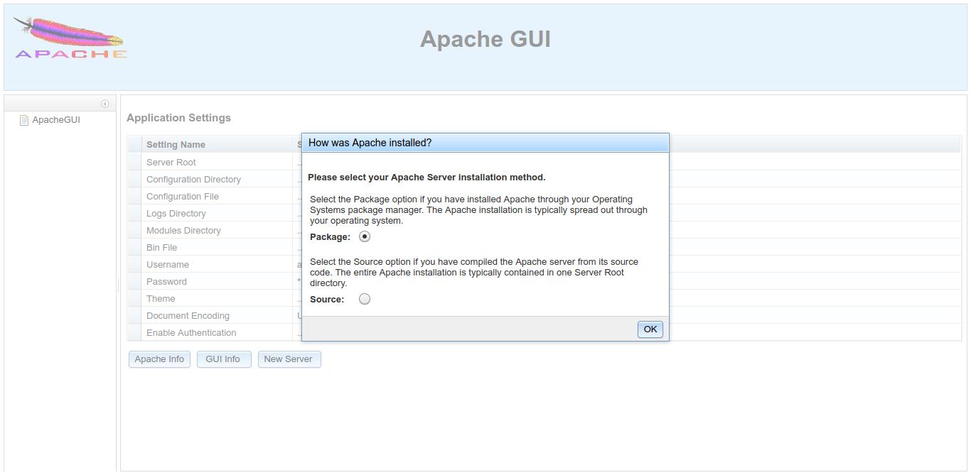 7.- Configuring Apache GUI on Debian 10