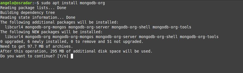 3.- Installing MongoDB on Debian 10