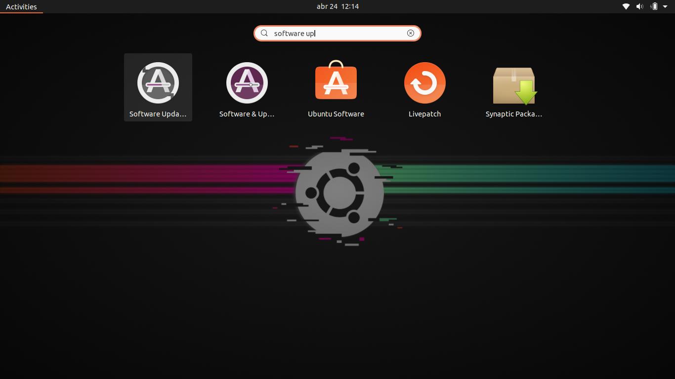 1.- Software updater