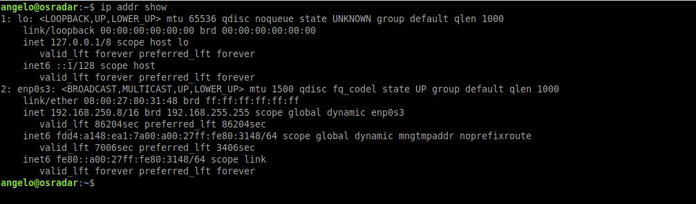 1.- Check the current IP address on Ubuntu 20.04