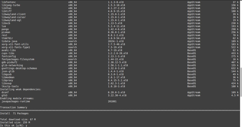 1.- Install Java on CentOS 8