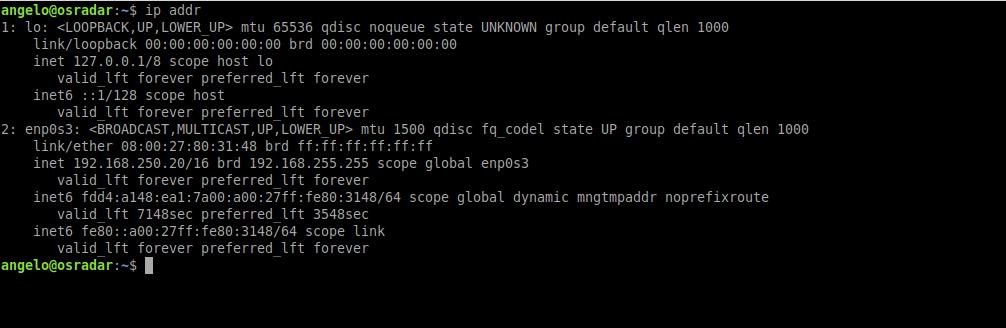 3.- Static IP address on Ubuntu 20.04