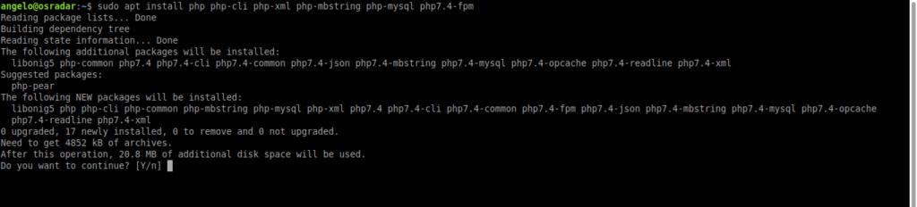 4.- Install PHP on Ubuntu 20.04