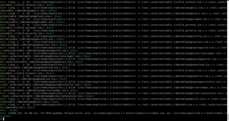 5.- Installing Nim programming language on FreeBSD 12