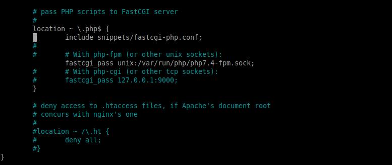 6.- Working with Nginx and PHP on Ubuntu 20.04
