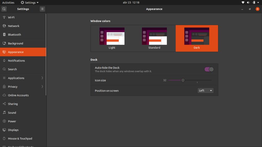 Ubuntu 20.04 themes