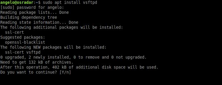 1.- Install VSFPTD on Ubuntu 20.04