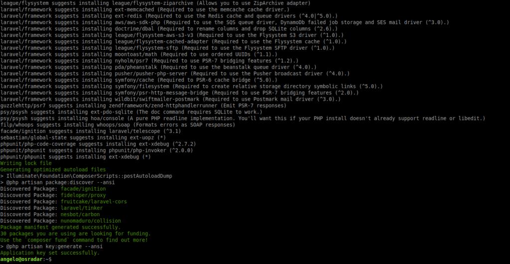 1.- Installing Laravel on Ubuntu 20.04
