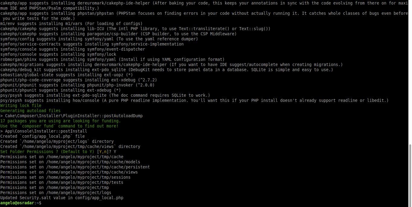 1.- Install CakePHP on Ubuntu 20.04