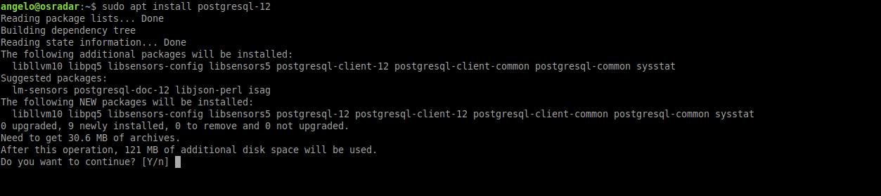 2.- Install PostgreSQL on Ubuntu 20.04