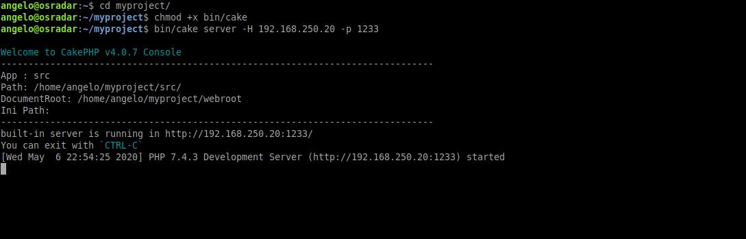 7.- Test CakePHP