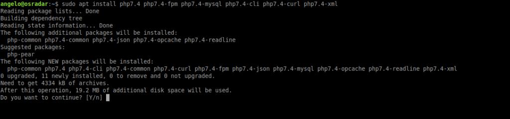3.- Installing PHP on Ubuntu 20.04