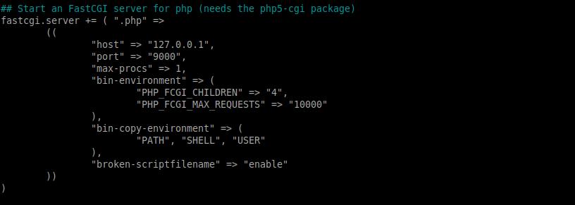 4.- Configuring Lighttpd on Ubuntu 20.04