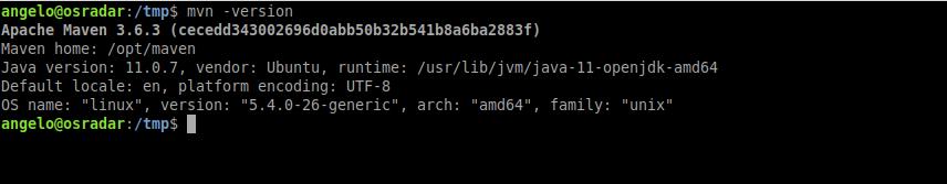 5.- Testing Apache Maven on Ubuntu 20.04