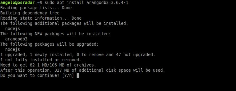 2.- Installing ArangoDB on Ubuntu 20.04
