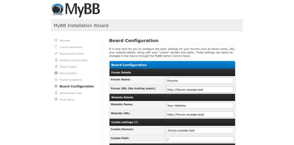 11.- Deploy your forum with MyBB on Ubuntu 20.04