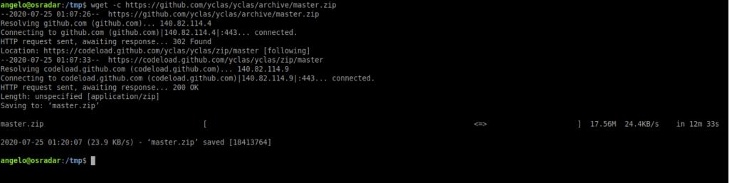 2.- Download Open Classifieds on Ubuntu 20.04