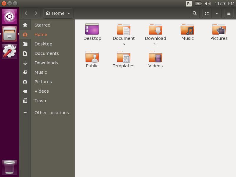 3.- Unity desktop on Ubuntu 20.04