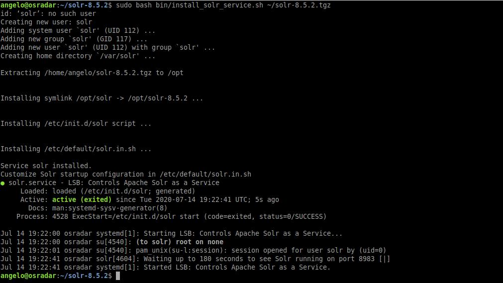 3.- Installing Apache Solr on Ubuntu 20.04
