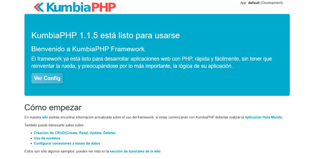 KumbiaPHP on Debian 11 / Ubuntu 20.04