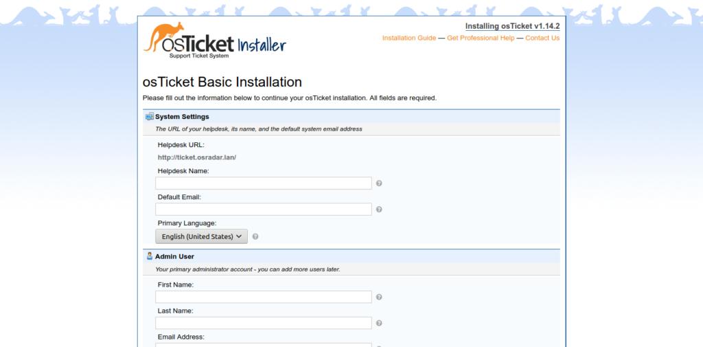 5.-osTicket installation on Ubuntu 20.04