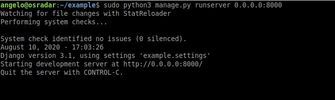 5.- Running Django on Ubuntu 20.04