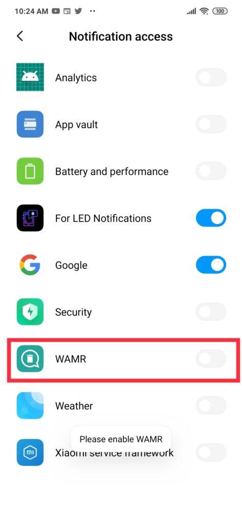 Notification Access