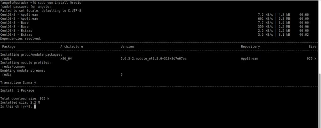 1.- Install Redis on CentOS 8