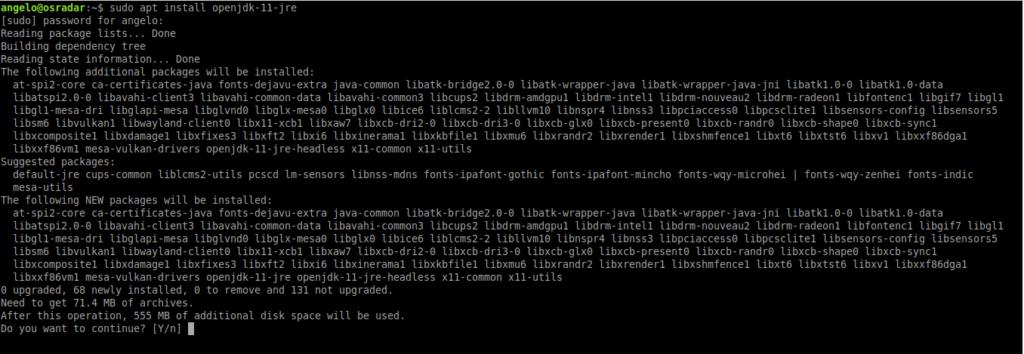 1.- Install Java on Ubuntu 20.04