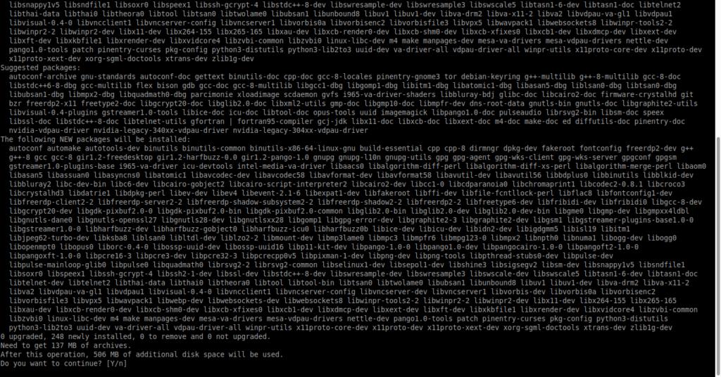 1.- Installing the Apache Guacamole dependencies
