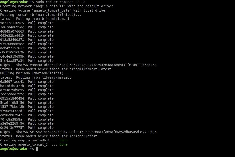 Deploy Apache Tomcat with Docker Compose