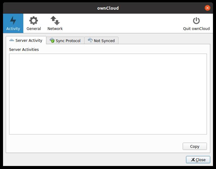3.- Owncloud client