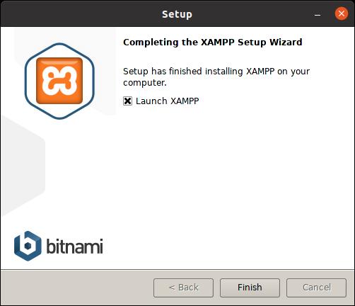 6.- XAMPP installed