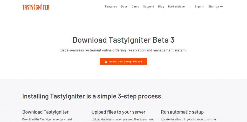 1.- Download TastyIgniter on Ubuntu 20.04