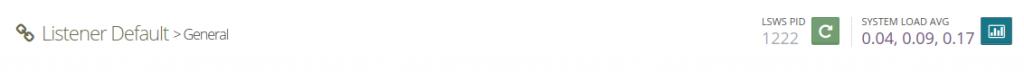 9.- Restart OpenLiteSpeed on CentOS 8