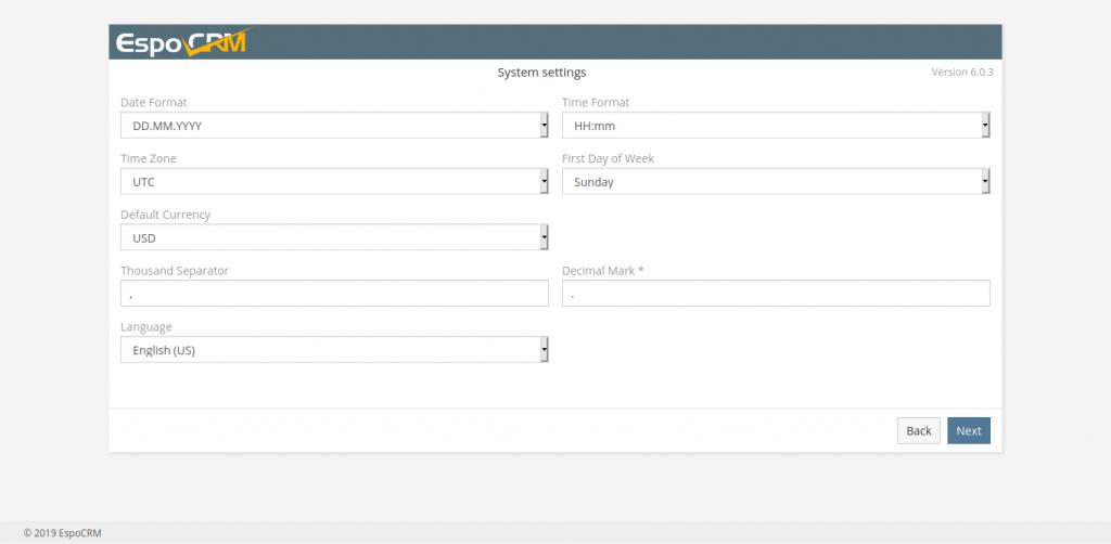 7.- Configuring EspoCRM on Ubuntu 20.04