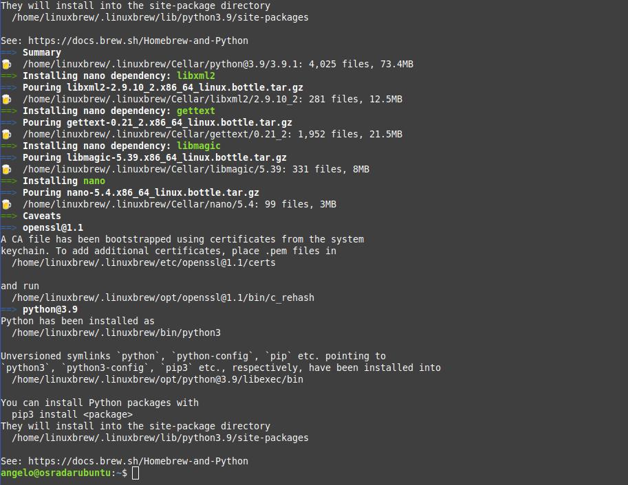 1.- Install nano on Ubuntu 20.04