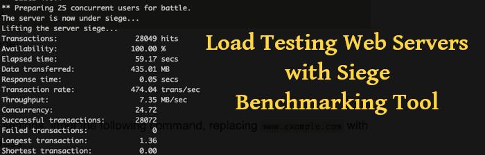 How To Install Siege Benchmarking Tool On Ubuntu 20.04