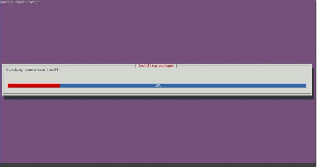 Install xfce on Ubuntu 20.04