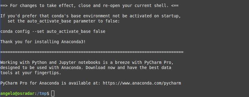 3.- Anaconda on Ubuntu 20.04 / Debian 10