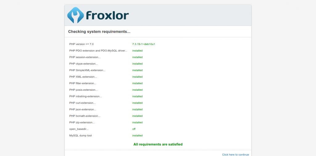 3.- Floxlor requeriments
