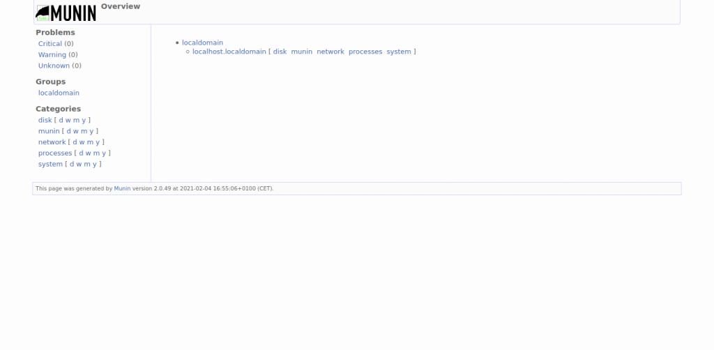 1.- Munin on Debian 10