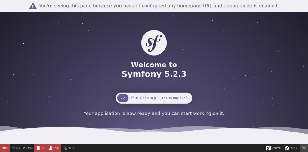3.- Symfony on Ubuntu 20.04
