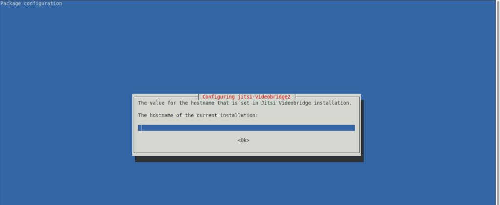 1.- Installing Jitsi on Debian 10