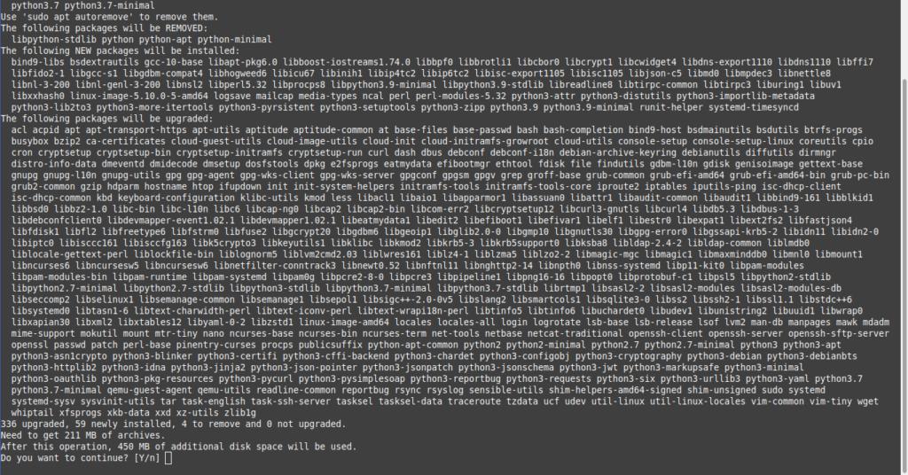 1.- Upgrade from Debian 10 to Debian 11
