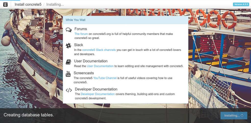 6.- Installing Concrete CMS on Ubuntu 20.04